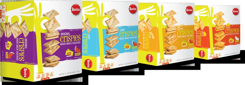 Crispies rovira boxes